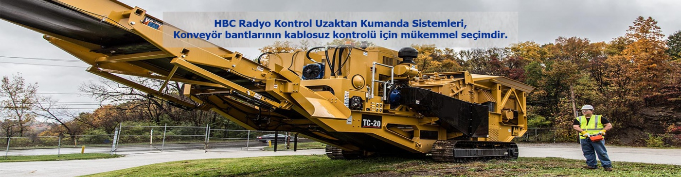 Construction Machines Remote Controls
